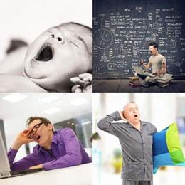 4 fotos 1 palavra 6 letras solução BOCEJO