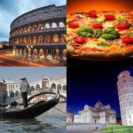 4 fotos 1 palavra 6 letras solução ITÁLIA