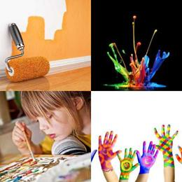 4 fotos 1 palavra 6 letras solução PINTAR