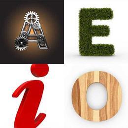 4 fotos 1 palavra 6 letras solução VOGAIS