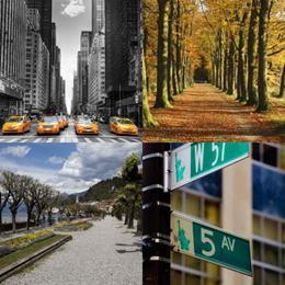 4 fotos 1 palavra 7 letras solução AVENIDA
