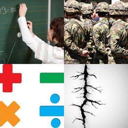4 fotos 1 palavra 7 letras solução DIVISÃO