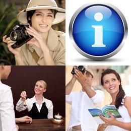 4 fotos 1 palavra 7 letras solução TURISMO