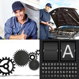 4 fotos 1 palavra 8 letras solução MECÂNICO