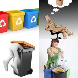 4 fotos 1 palavra 8 letras solução RECICLAR