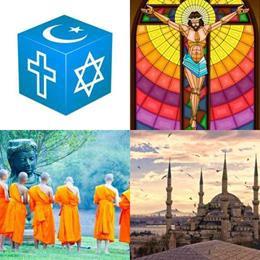 4 fotos 1 palavra 8 letras solução RELIGIÃO